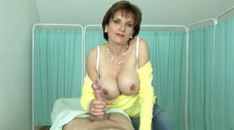 una visita de mama antes de la operacion