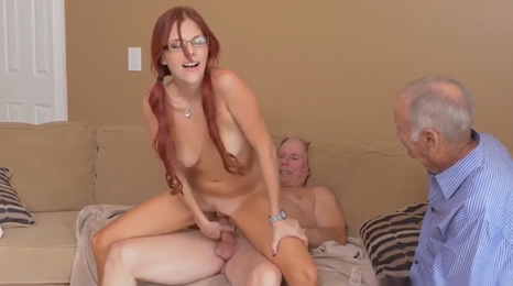 Fucking his girlfriend in the kitchen