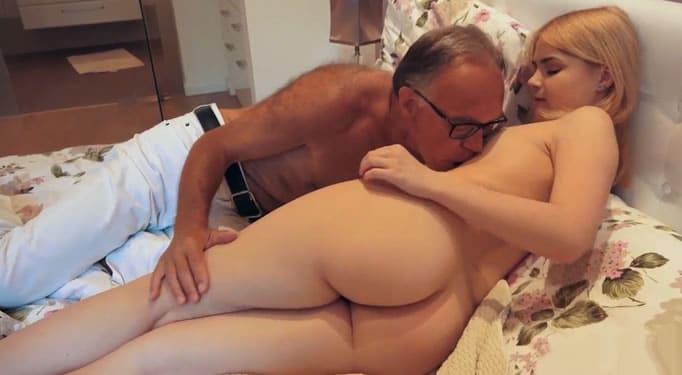 Papa me folla
