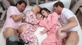 Padres intercambiaron a sus hijas para acabar en una brutal orgía