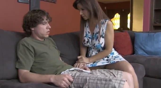 madre hijo sexo video casero