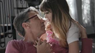 Princesa seduce a papá